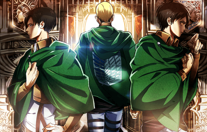 Арт по аниме Атака Титанов / Attack on Titan art