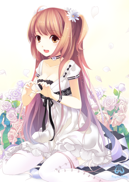 Фото аниме девушек самая красивая девушка фото 20-228
