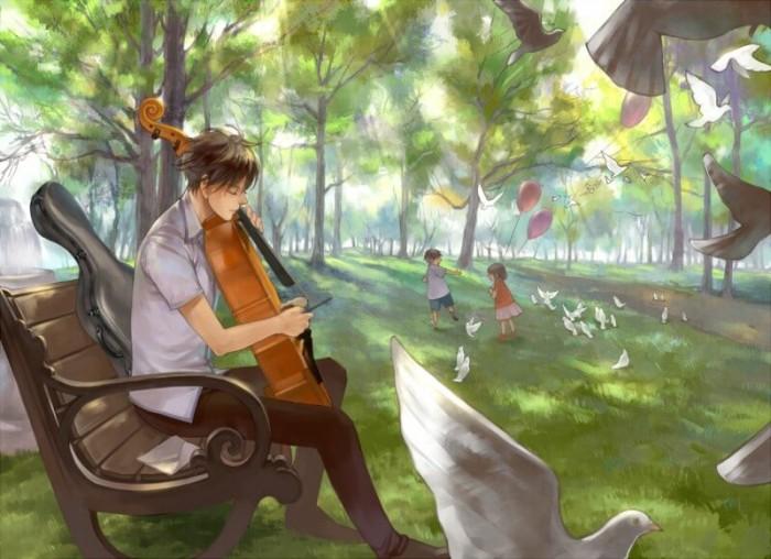 Красивые картинки с музыкальными инструментами
