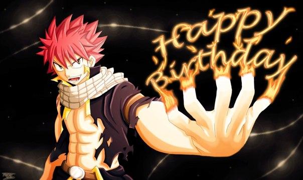 картинки с днем рождения анимешные