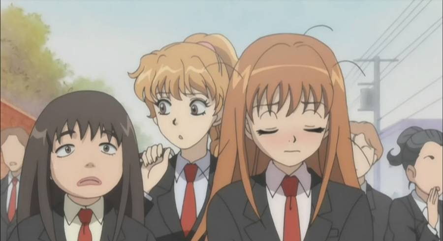 озорной поцелуй аниме 1 сезон 1 серия