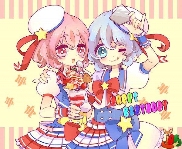 с днем рождения сестренка в стиле аниме