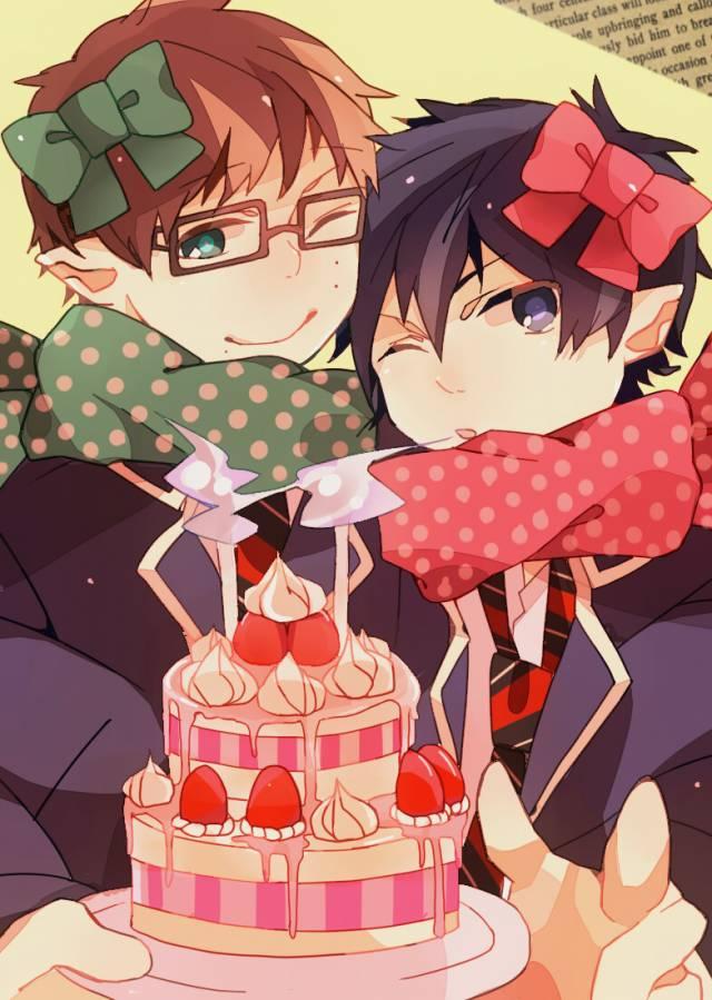 Ожидании любимого, аниме картинки поздравления с днем рождения для парней