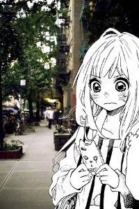 Фото аниме на аву жуткие 39
