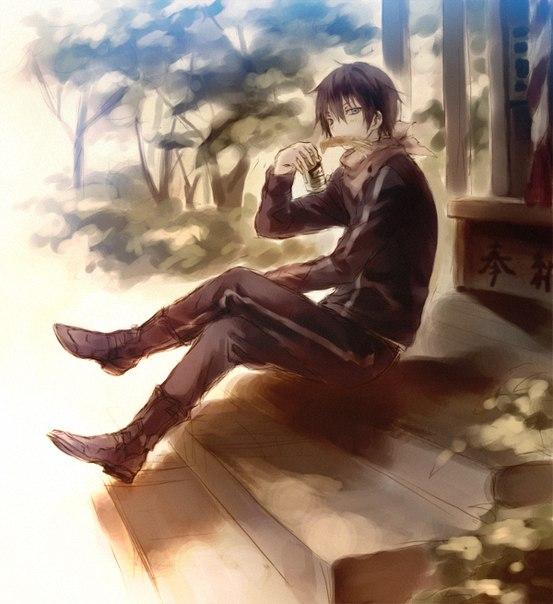 картинки ято из аниме бездомный бог картинки