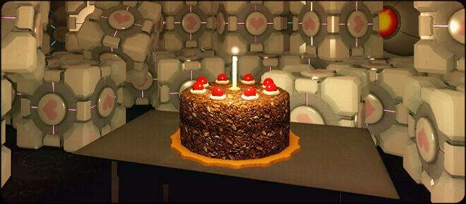 Тортик из игры Портал