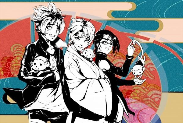 Все персонажи наруто новое поколение gorgeous фильм джеки чан