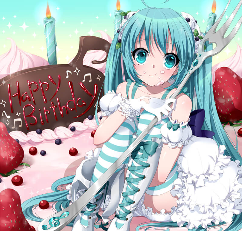 Анимешные поздравления с днем рождения
